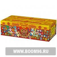 Батарея салюта Федерация  - Магазин фейерверков и салютов BOOM96.RU с бесплатной круглосуточной доставкой в Екатеринбурге!