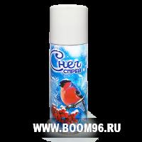"""Спрей """"Искусственный снег"""", 250 мл - Магазин фейерверков и салютов BOOM96.RU с бесплатной круглосуточной доставкой в Екатеринбурге!"""
