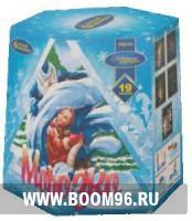 Батарея салюта Морозушко - Магазин фейерверков и салютов BOOM96.RU с бесплатной круглосуточной доставкой в Екатеринбурге!