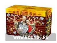 Комбинированная батарея салюта Хрустальное сердце - Магазин фейерверков и салютов BOOM96.RU с бесплатной круглосуточной доставкой в Екатеринбурге!