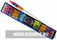 Ракета Ассорти  (6шт) - Магазин фейерверков и салютов BOOM96.RU с бесплатной круглосуточной доставкой в Екатеринбурге!