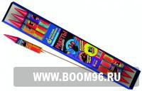 Ракета Железная стрекоза  (6шт) - Магазин фейерверков и салютов BOOM96.RU с бесплатной круглосуточной доставкой в Екатеринбурге!