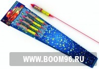 Ракета Огненный залп (1шт) - Магазин фейерверков и салютов BOOM96.RU с бесплатной круглосуточной доставкой в Екатеринбурге!