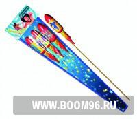 Ракета Диско (1шт) - Магазин фейерверков и салютов BOOM96.RU с бесплатной круглосуточной доставкой в Екатеринбурге!
