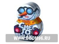 Фонтан Снеговик - Магазин фейерверков и салютов BOOM96.RU с бесплатной круглосуточной доставкой в Екатеринбурге!