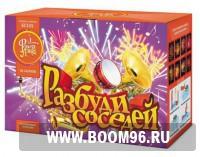 Батарея салюта Разбуди соседей  - Магазин фейерверков и салютов BOOM96.RU с бесплатной круглосуточной доставкой в Екатеринбурге!