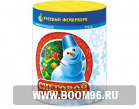 Батарея салюта Снеговой - Магазин фейерверков и салютов BOOM96.RU с бесплатной круглосуточной доставкой в Екатеринбурге!