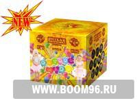 Батарея салюта  Доброе чудо - Магазин фейерверков и салютов BOOM96.RU с бесплатной круглосуточной доставкой в Екатеринбурге!