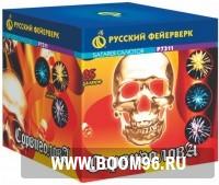 Батарея салюта Сорвиголова - Магазин фейерверков и салютов BOOM96.RU с бесплатной круглосуточной доставкой в Екатеринбурге!