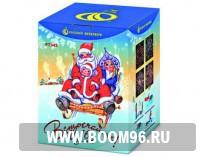 Батарея салюта Встречайте !  - Магазин фейерверков и салютов BOOM96.RU с бесплатной круглосуточной доставкой в Екатеринбурге!