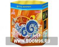 Батарея салюта Диковинка  - Магазин фейерверков и салютов BOOM96.RU с бесплатной круглосуточной доставкой в Екатеринбурге!