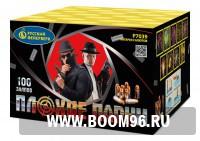 Батарея салюта Плохие парни (100 залпов) - Магазин фейерверков и салютов BOOM96.RU с бесплатной круглосуточной доставкой в Екатеринбурге!