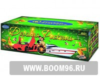 Батарея салюта Дерзкая роскошь  - Магазин фейерверков и салютов BOOM96.RU с бесплатной круглосуточной доставкой в Екатеринбурге!