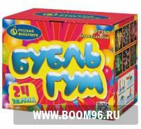 Батарея салюта Бубль-Гум (24 залпов) - Магазин фейерверков и салютов BOOM96.RU с бесплатной круглосуточной доставкой в Екатеринбурге!
