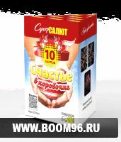 Батарея салюта Счастье в коробочке (10 залпов)  - Магазин фейерверков и салютов BOOM96.RU с бесплатной круглосуточной доставкой в Екатеринбурге!