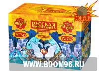 Батарея салюта Ледяные узоры - Магазин фейерверков и салютов BOOM96.RU с бесплатной круглосуточной доставкой в Екатеринбурге!