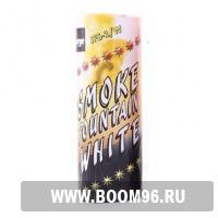 Факел дымовой Smoke fountain белый - Магазин фейерверков и салютов BOOM96.RU с бесплатной круглосуточной доставкой в Екатеринбурге!