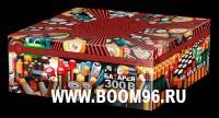 Батарея салюта Батарея 300В - Магазин фейерверков и салютов BOOM96.RU с бесплатной круглосуточной доставкой в Екатеринбурге!