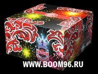 Батарея салюта Империя праздника  - Магазин фейерверков и салютов BOOM96.RU с бесплатной круглосуточной доставкой в Екатеринбурге!