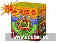 Батарея салюта Подарок для елочки  (18 залпов)  - Магазин фейерверков и салютов BOOM96.RU с бесплатной круглосуточной доставкой в Екатеринбурге!