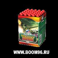 Батарея салюта Зенитка -25  - Магазин фейерверков и салютов BOOM96.RU с бесплатной круглосуточной доставкой в Екатеринбурге!